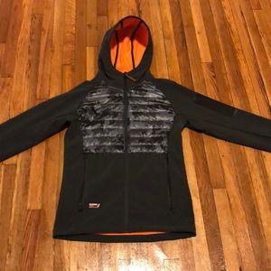 Superdry Men's Mountain Soft Shell Hybrid jacket.